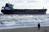 Operacja u wybrze�y USA - wyci�gn� polski statek