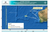 Tropikalny cyklon przerwa� poszukiwania malezyjskiego samolotu