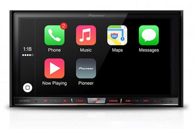 Pioneer wprowadzi CarPlay do swoich systemów audio