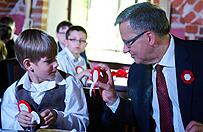 Bronis�aw Komorowski: oby�my potrafili wykorzysta� dane Polsce szanse