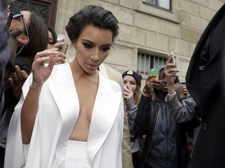 Kanye West i Kim Kardashian po ślubie