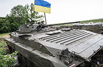 Rosyjskie pociski spadaj� na Ukrain�. Artyleryjski ostrza�
