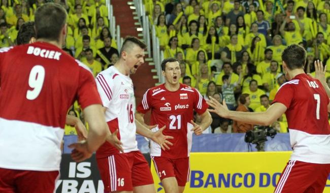 LŚ: Brazylia na kolanach! - Sport - WP.PL