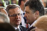 Prezydent Komorowski spotka� si� z prezydentem Ukrainy