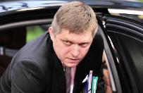 Premier S�owacji Robert Fico nie komentuje wydarze� w CEK NATO w Warszawie