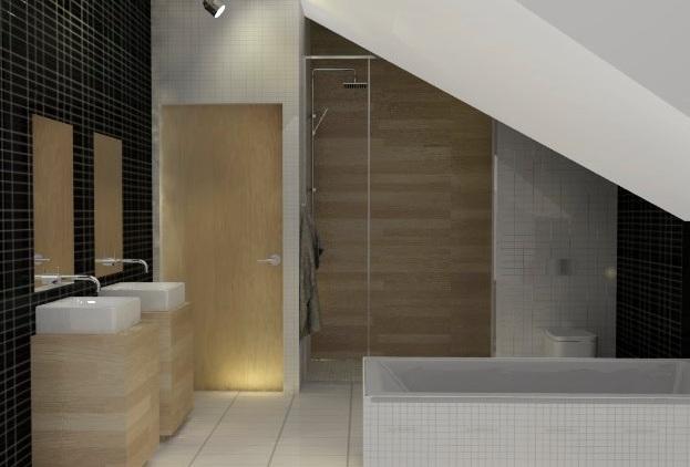 Jak Urządzić Nowoczesną łazienkę Na Poddaszu Aranżacje Wp Dom