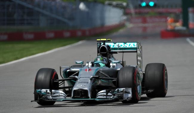 Nico rosberg z pole position w kanadzie