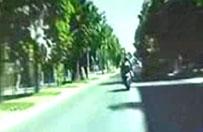 Pościg za motocyklistą. 90 punktów karnych