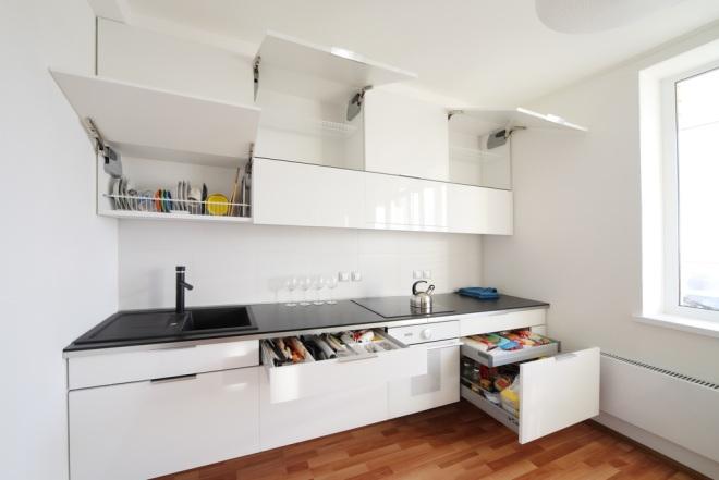 Przechowywanie w małej kuchni sprawdzone pomysły  WP Do -> Mala Kuchnia Bez Okna Aranżacje