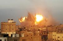 Ci�arna Polka uwi�ziona w Strefie Gazy. Izraelskie lotnictwo zbombardowa�o jej dom