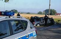 Samochody zderzy�y si� ko�o Kutna. S� ranni
