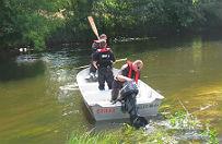 Zw�oki 77-latka wy�oni�y si� z rzeki. Szukali go od stycznia