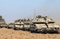 Trwa l�dowa ofensywa w Strefie Gazy. Zgin�� pierwszy �o�nierz izraelski