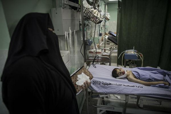 Strefa Gazy Picture: Najbardziej Krwawy Dzień Wojny Izraela Z Hamasem W Strefie