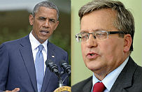 Komorowski z Obam� o wzmocnieniu flanki wschodniej NATO