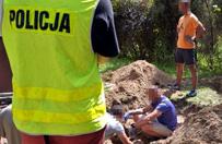 Makabryczne odkrycie pod Warszaw�. Szcz�tki ofiar gangsterskich porachunk�w