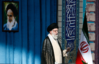 Ajatollah Ali Chamenei nazywa Izrael w�ciek�ym psem i oskar�a go o ludob�jstwo