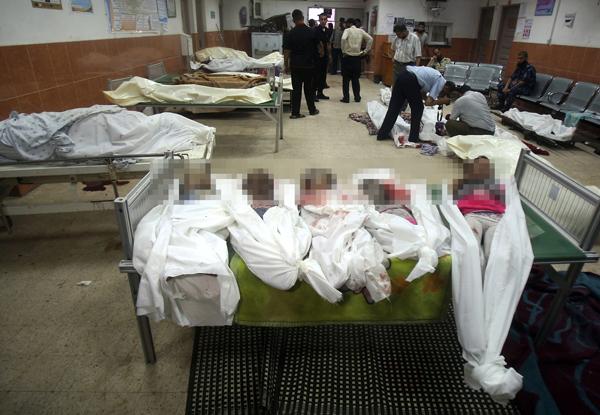 Strefa Gazy Picture: Służby Medyczne Strefy Gazy: Co Najmniej 100 Ofiar Ataków