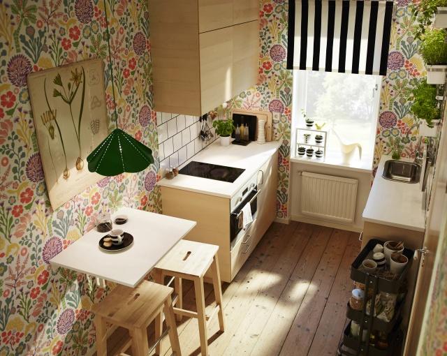 W ska kuchnia inspiracje w ska kuchnia to nie wyrok zdj cia kuchni inspiracje wp dom - Papel decorativo ikea ...