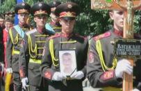 Ukrai�cy �egnaj� �o�nierzy poleg�ych w walce z separatystami