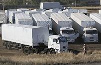 W�adze Ukrainy: rosyjski konw�j wci�� nie zosta� skontrolowany na granicy