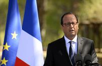 Francja dostarczy�a bro� rebeliantom w Syrii - przekaza� prezydent Francois Hollande