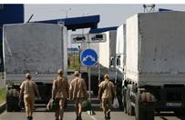Rosyjska kolumna, kt�ra dostarczy�a pomoc do �uga�ska, wraca do kraju