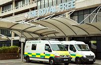 Pacjent z ebol� w izolacji w londy�skim szpitalu