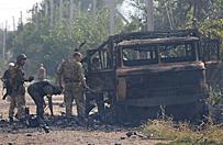 Prorosyjscy separaty�ci zaatakowali Nowoazowsk