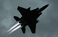 Wojskowy samolot F-15 rozbi� si� w parku narodowym w Wirginii. Losy pilota nieznane