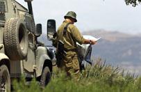 Walki mi�dzy rebeliantami a armi� syryjsk� na Wzg�rzach Golan