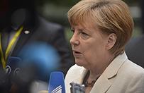 Merkel krytykuje Rosj�, deklaruje pomoc dla sojusznik�w z NATO