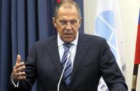 """Siergiej �awrow do student�w: polityka NATO """"absolutnie prowokacyjna"""""""