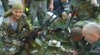 Prorosyjscy separatyści przed bitwą