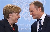Angela Merkel: wyb�r Donalda Tuska na szefa Rady Europejskiej ma wielkie symboliczne znaczenie