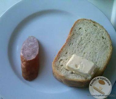 Jedzenie w polskich szpitalach...