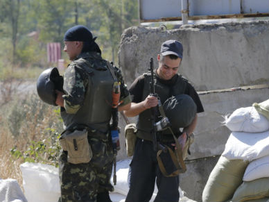 W Doniecku ostrzelano obserwator�w OBWE