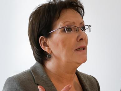W Belwederze spotkanie prezydenta Bronis�awa Komorowskiego z Ew� Kopacz