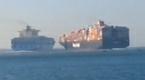 Zderzenie kontenerowców na Kanale Sueskim