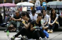 Chi�scy hakerzy zaatakowali telefony demonstrant�w w Hongkongu