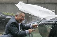 Tajfun Fanton uderzy� w Japoni�. �ywio� zmierza w kierunku Tokio
