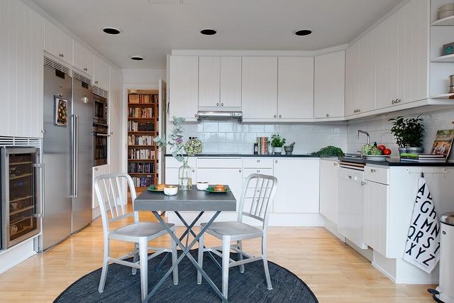 Kuchnia w stylu skandynawskim  Kuchnia w stylu skandynawskim  jak ją urządz  -> Kuchnia W Bloku W Stylu Skandynawskim