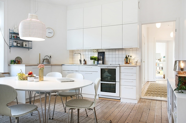 Kuchnia w stylu skandynawskim  jak ją urządzić?  Strona 5  Dom  WP PL -> Kuchnia W Bloku W Stylu Skandynawskim