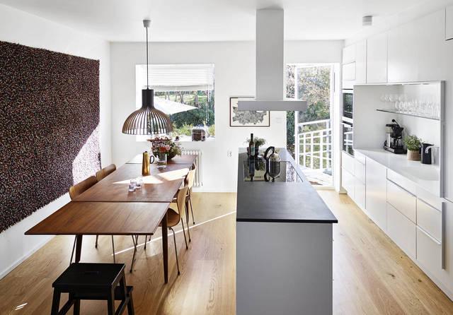 Kuchnia w stylu skandynawskim  Kuchnia w stylu skandynawskim  jak ją urządz   -> Kuchnia I Salon W Stylu Skandynawskim