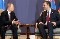 """Prasa niemiecka o wizycie W�adimira Putina w Serbii: """"Wielki Brat z Moskwy"""""""