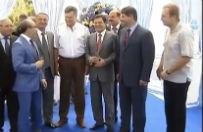 Opozycja bawi�a si� na urodzinach Wiktora Janukowycza. P�niej go obalili