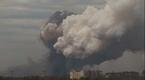 Potężna eksplozja na wschodniej Ukrainie