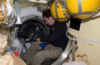 W�oska astronautka zabiera w kosmos risotto i ekspres do kawy