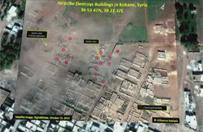 Walki z Pa�stwem Islamskim w Kobane. Zdj�cia satelitarne ukazuj� ogromn� skal� zniszcze�