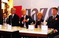 Debata kandydat�w na prezydenta Poznania. Pad�y trudne pytania